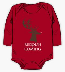 Rudolph is coming One Piece - Long Sleeve