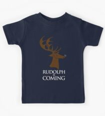 Rudolph is coming Kids Tee