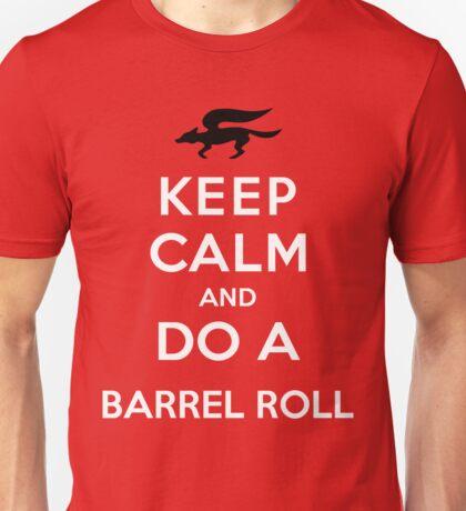 Keep Calm and Do a Barrel Roll Unisex T-Shirt