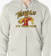 It's Turbo Time!!!  Zipped Hoodie