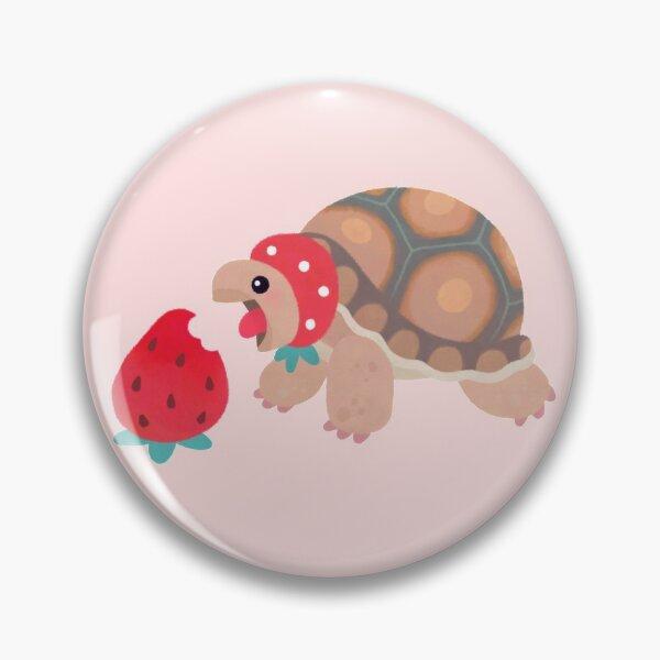 Tortoises love strawberries Pin