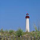 Cape May Beacon by Sally Kady