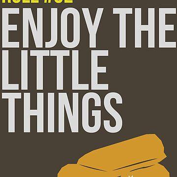 Zombie Survival Guide - Rule #32 - Enjoy the Little Things von AlexNoir