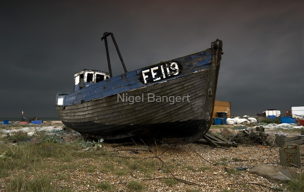Dungeness Fishing Boat by Nigel Bangert