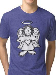 Hey Angel Baby! (t-shirt / sticker) Tri-blend T-Shirt