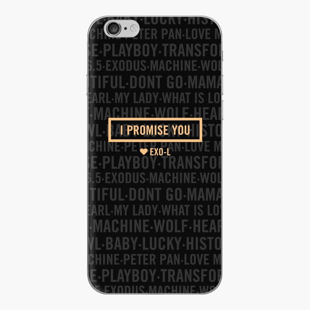 EXO für immer iPhone Klebefolie