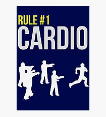 Zombie Survival Guide - Rule #1 Cardio Photographic Print