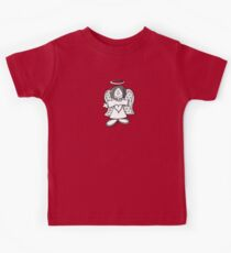 Little Hey Angel Baby! (t-shirt / sticker) Kids Tee
