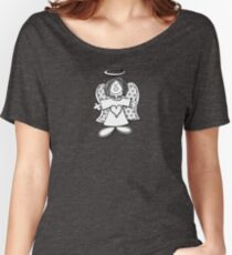 Little Hey Angel Baby! (t-shirt / sticker) Women's Relaxed Fit T-Shirt