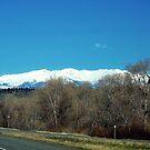 Highway over Bridger Creek (Bozeman, Montana) by rocamiadesign