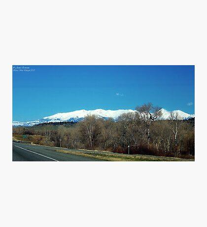 Highway over Bridger Creek (Bozeman, Montana) Photographic Print