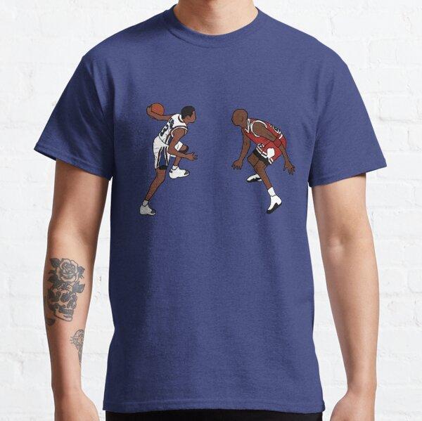 Allen Iverson Crosses Over Michael Jordan Classic T-Shirt