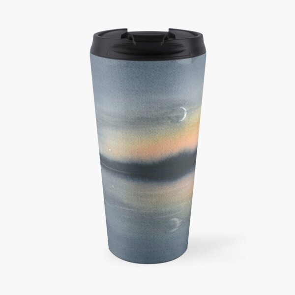 Moonrise in Algonquin Travel Mug