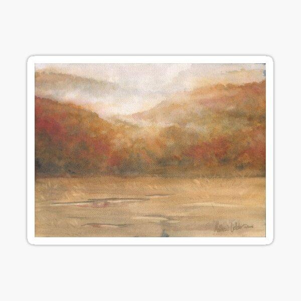 Autumn Fog Sticker