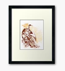 lady bird 2 Framed Print