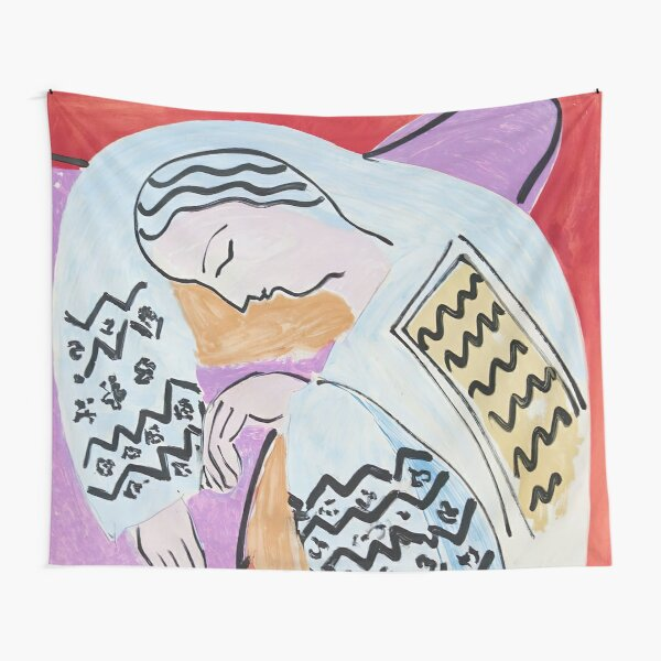 Henri Matisse - The Dream - 1940 Artwork Tapestry