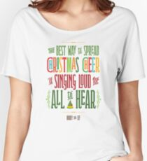 Buddy the Elf - Christmas Cheer Women's Relaxed Fit T-Shirt
