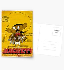 MACHETY - the fastest Blade in Mexico Postcards
