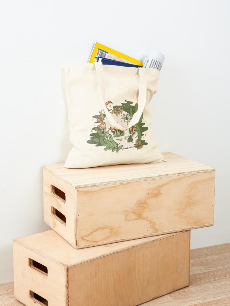 Alternate view of Desert Skull Tote Bag