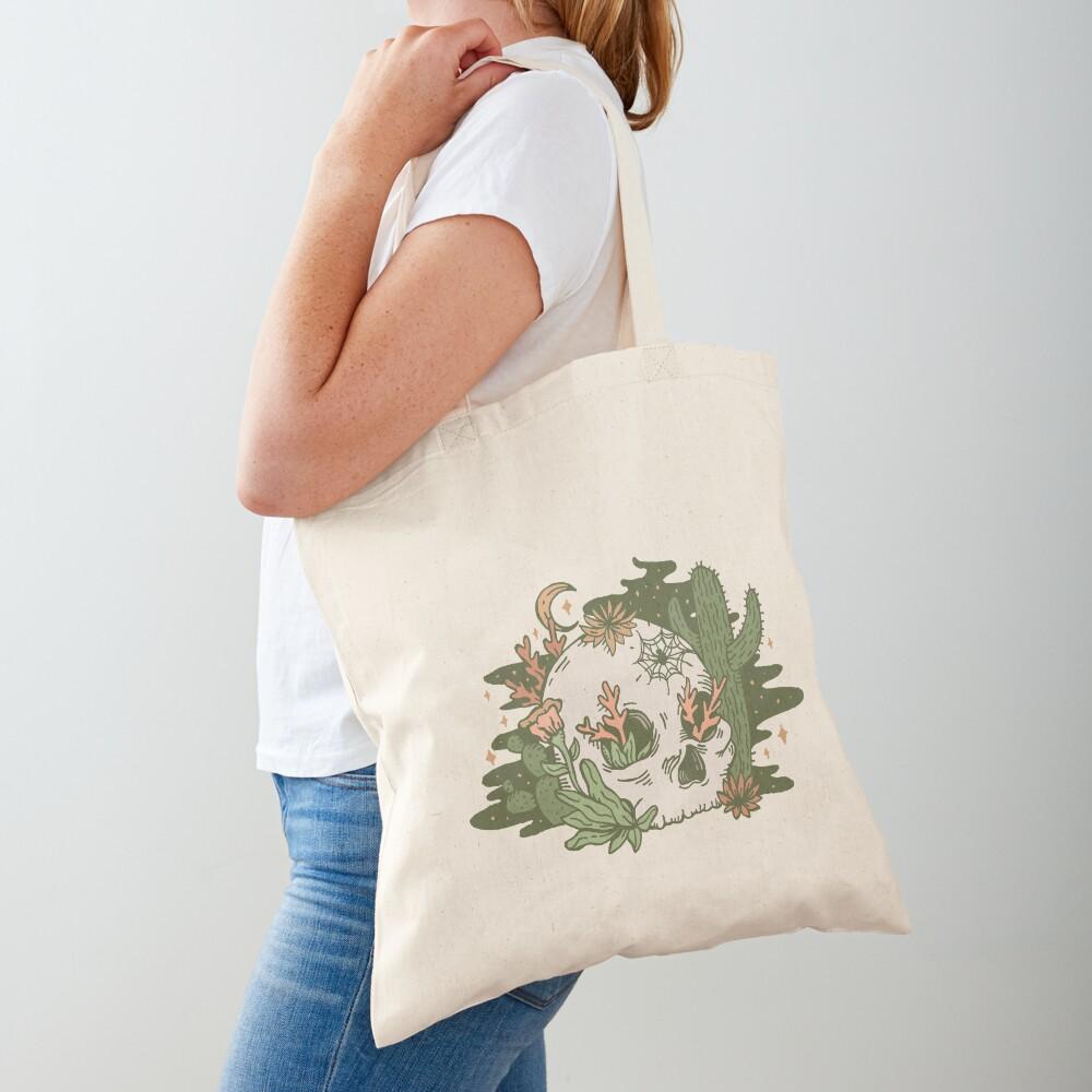 Desert Skull Tote Bag