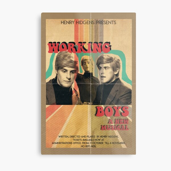 Working Boys The Guy Who Didn't Like Musicals Metal Print