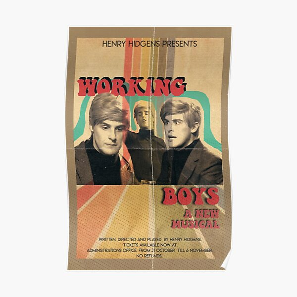 Working Boys The Guy Who Didn't Like Musicals Poster