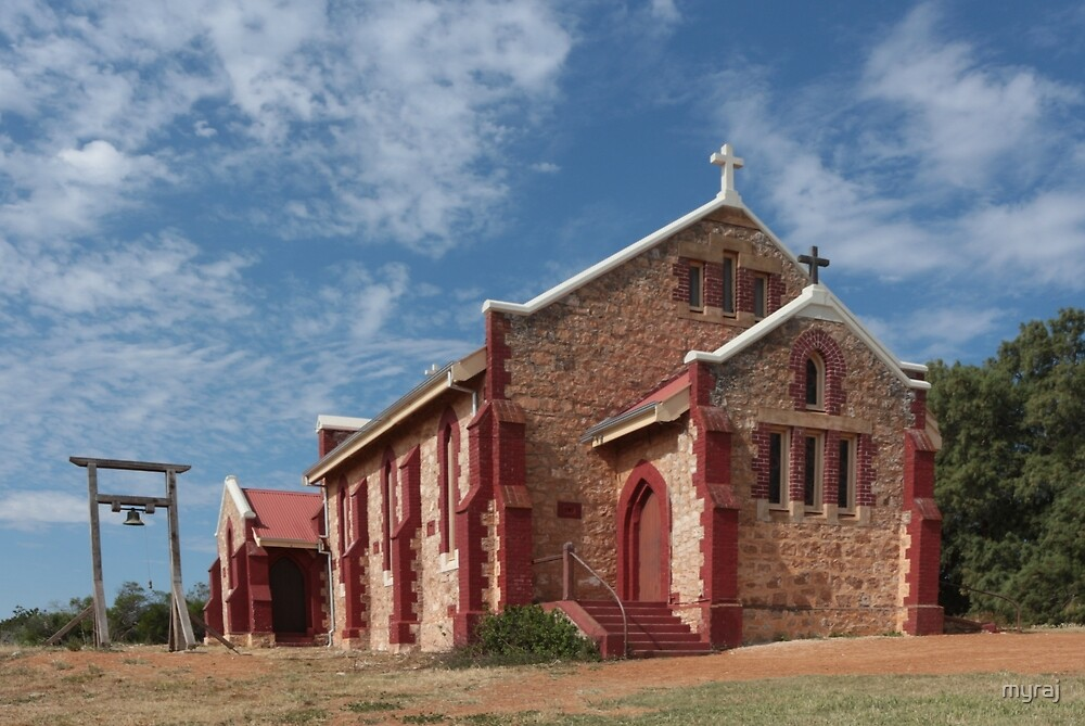 A Church at Greenough by myraj