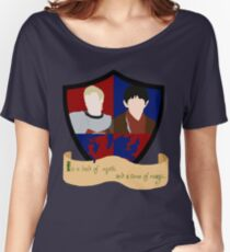 The Shield of Merlin & Arthur  Women's Relaxed Fit T-Shirt