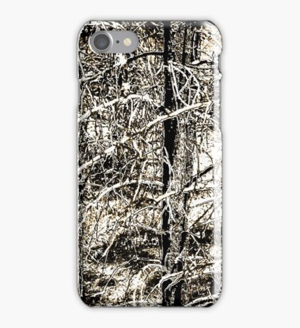 Phone camo: When You Cannot See the Trees for the Forest iPhone Case/Skin