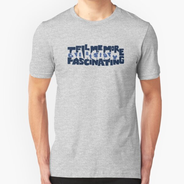 Hidden Sarcasm Slim Fit T-Shirt