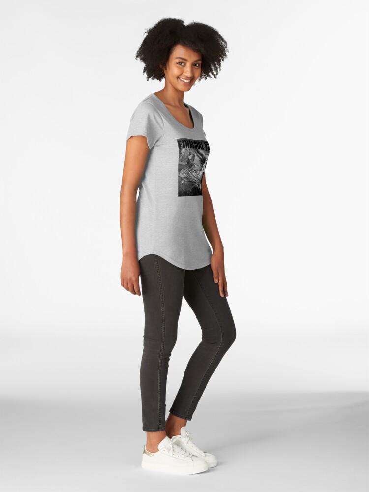 Alternate view of Final Girl Vibes Premium Scoop T-Shirt