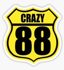 Crazy 88 Sticker