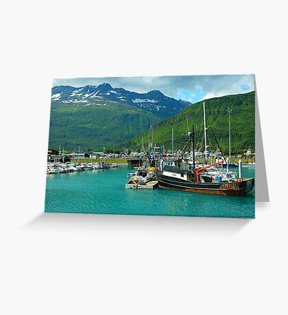 Valdez Alaska Greeting Card