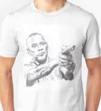Denzel Washington Equalizes with a Hi. Slim Fit T-Shirt