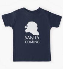 Santa is coming Kids Tee