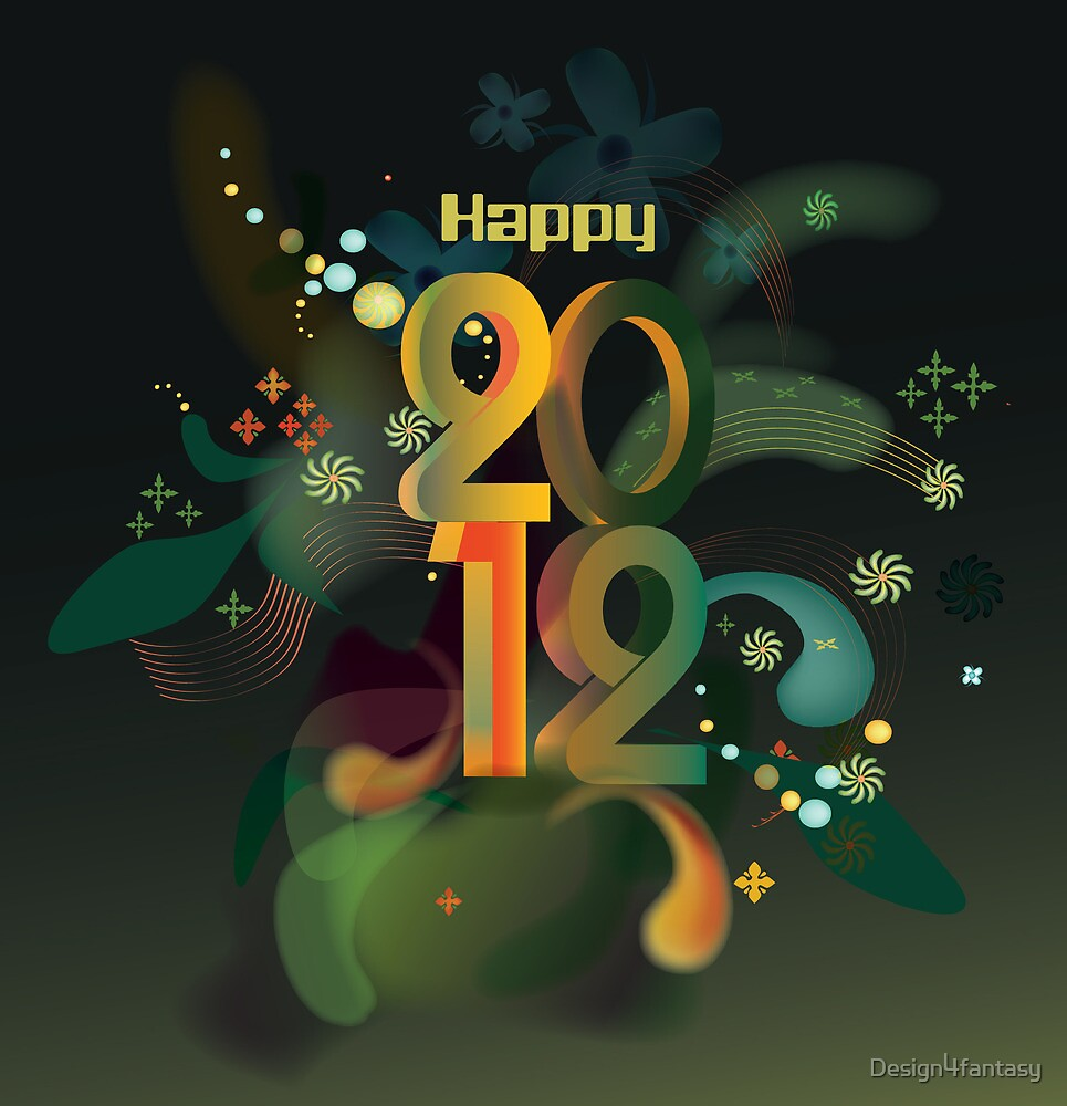 Year 2012 graphic by Design4fantasy
