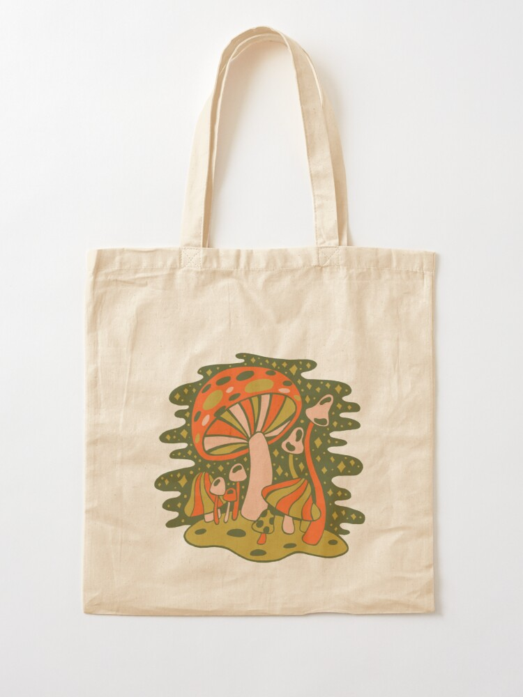 Alternate view of Forest of Mushrooms Tote Bag