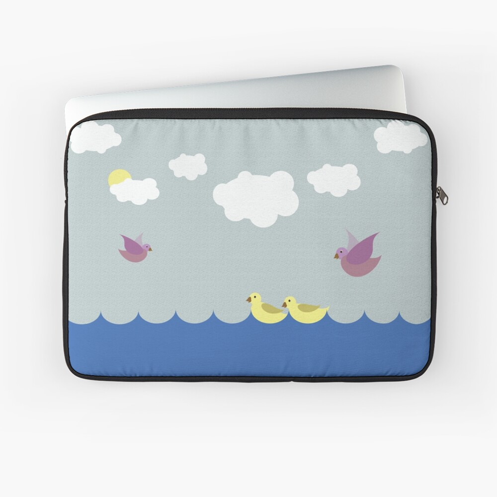 On One Sunny Day... Laptop Sleeve