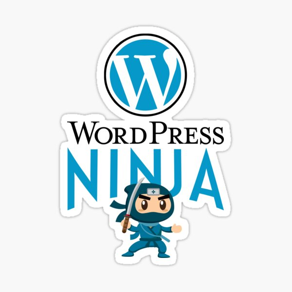 WordPress Ninja Sticker