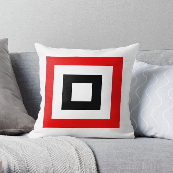 Square 2 Throw Pillow