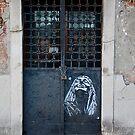 Door with Stencil, Venice by Barbara Wyeth