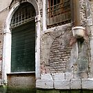 Door on the Canal, Venice by Barbara Wyeth