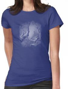 Piano Tree Womens Fitted T-Shirt