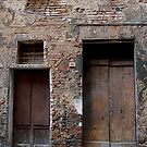 Doors, Assisi by Barbara Wyeth