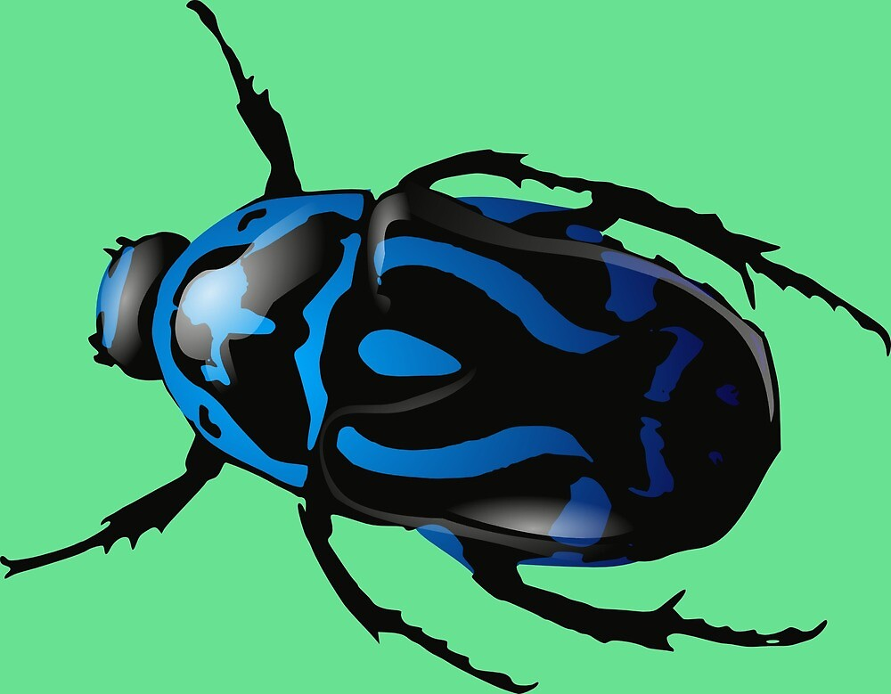 Blue beetle by mosfunky