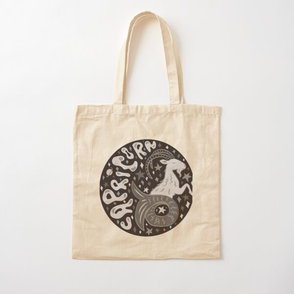 Capricorn Cotton Tote Bag