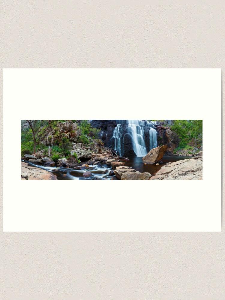 Alternate view of MacKenzie Falls, Grampians, Australia Art Print