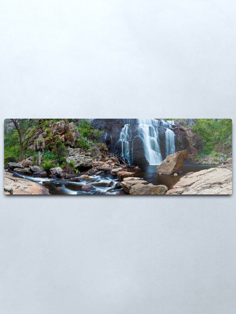 Alternate view of MacKenzie Falls, Grampians, Australia Metal Print