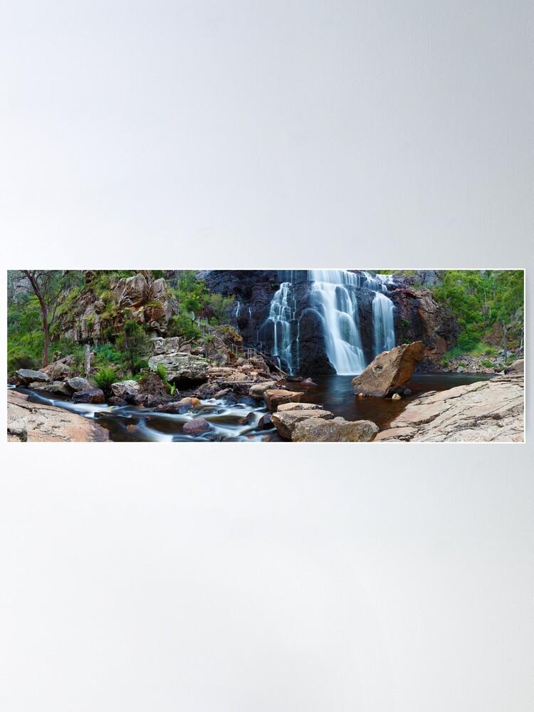 Alternate view of MacKenzie Falls, Grampians, Australia Poster