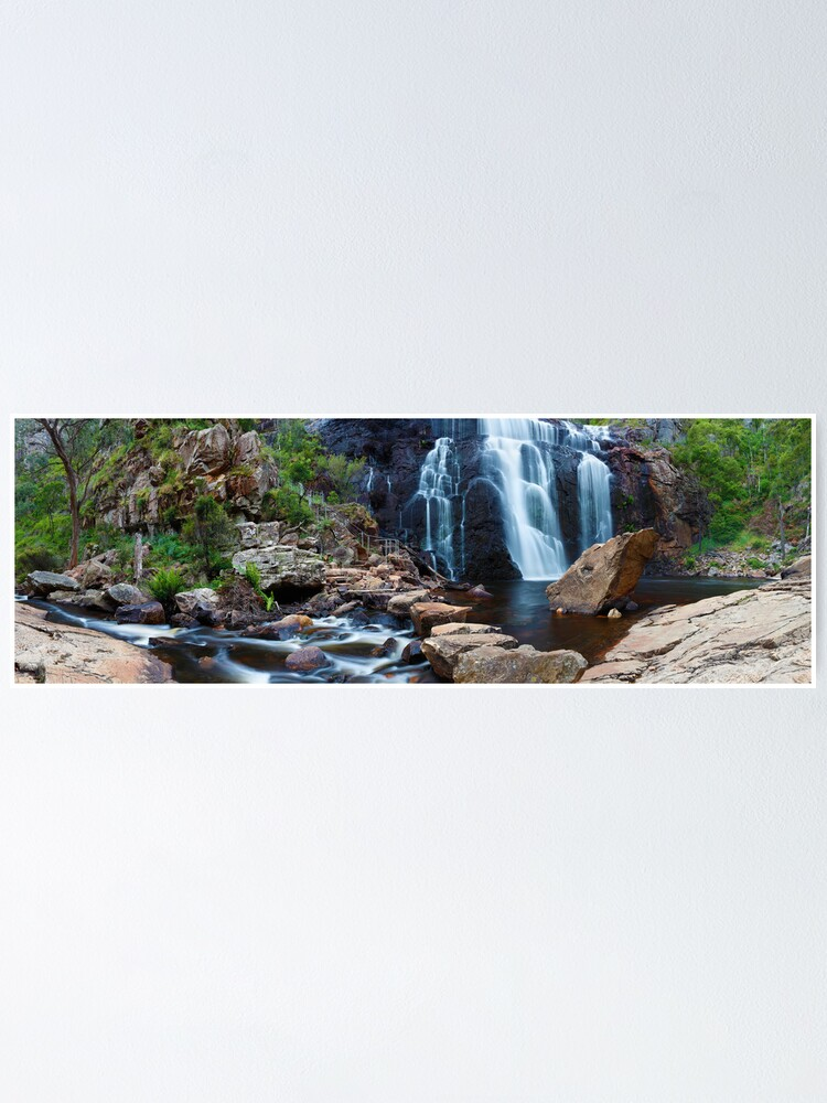Alternate view of MacKenzie Falls, Grampians, Australia Poster